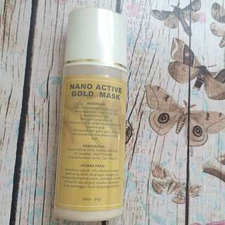 Nano Active Gold Mask (FREE ONGKIR)