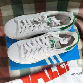 (含運)ABC-MART購入Adidas Originals STAN SMITH 奶油底