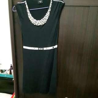 香奈兒風針織洋裝