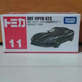 Tomica #11 SRT Viper GTS (black)
