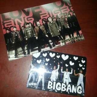 [包郵] Bigbang五人團體 yescard 膠幻卡連bigbang相