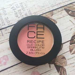 FACE Recipe Blush ORI