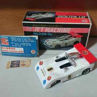 Shinsei Jet Machine Gulf Mirage 1/39 Diecast Car (MIJ)