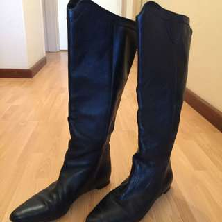 Scanlan Theodore Leather Boots