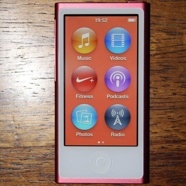 16GB iPod Nano Red