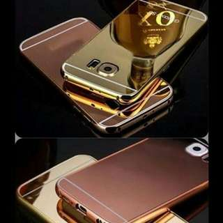 Samsung Galaxy S6 Edge Gold Phone Cover