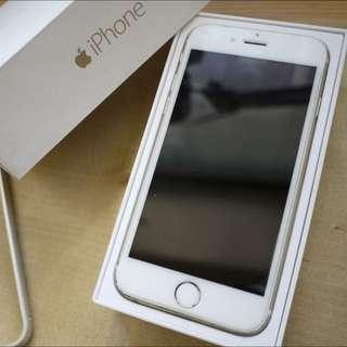 iPhone 6 金色 64G