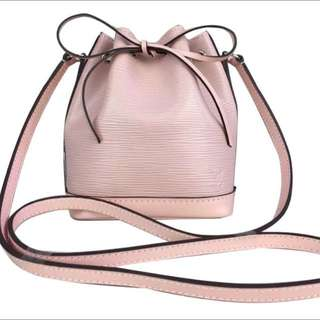*PRICE REDUCED* Louis Vuitton Nano Noe Baby Pink