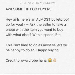 Tip On How Not To Get Scammed! 💗