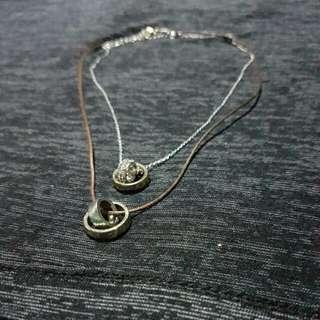 2 Tier (Double) Choker Necklace