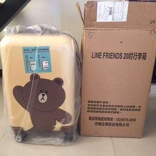 LINE FRIENDS 20吋熊大行李箱
