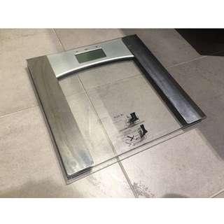 Digital Bathroom Scale - Silver