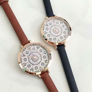 floretta thin strap watch