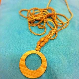 [廿蚊區]木製頸鏈
