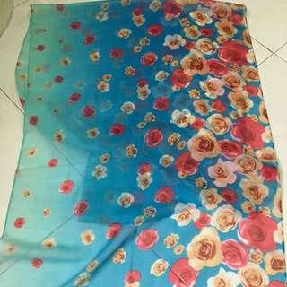 Shawl (Flower Design)
