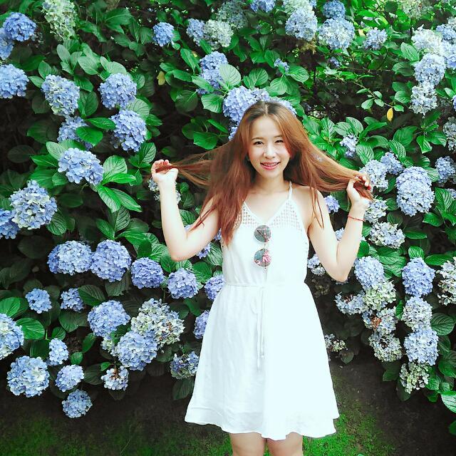 白色天使小洋裝