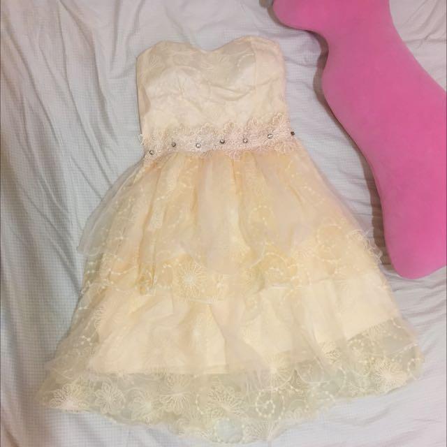 夢幻伴娘服 小禮服 紗裙