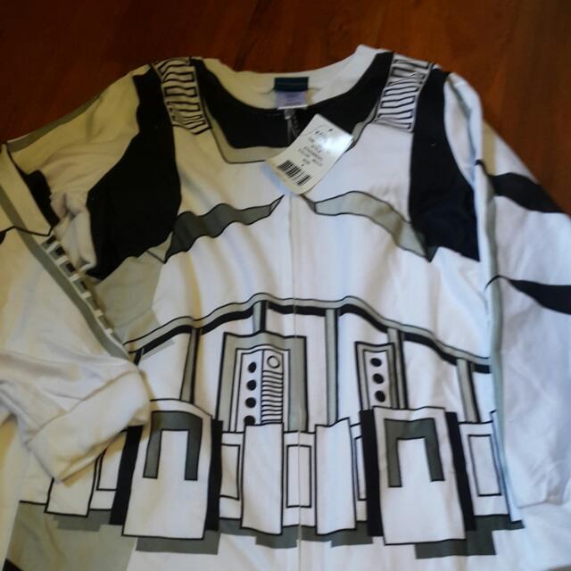 星際大戰 白武士 造型連身服