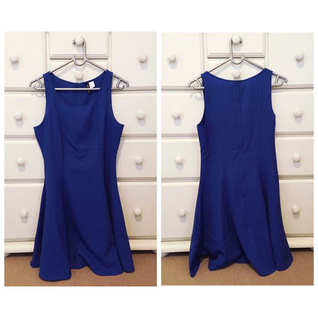 Blue Dress New