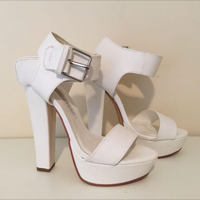 Brand New White Heels