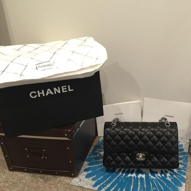 Chanel CF Medium Lambskin