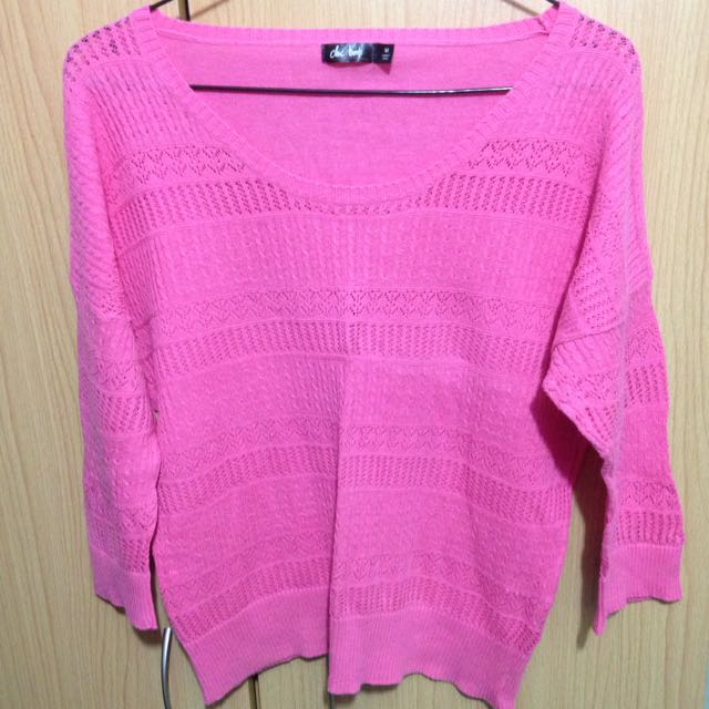 Chicabooti Pink Sweater