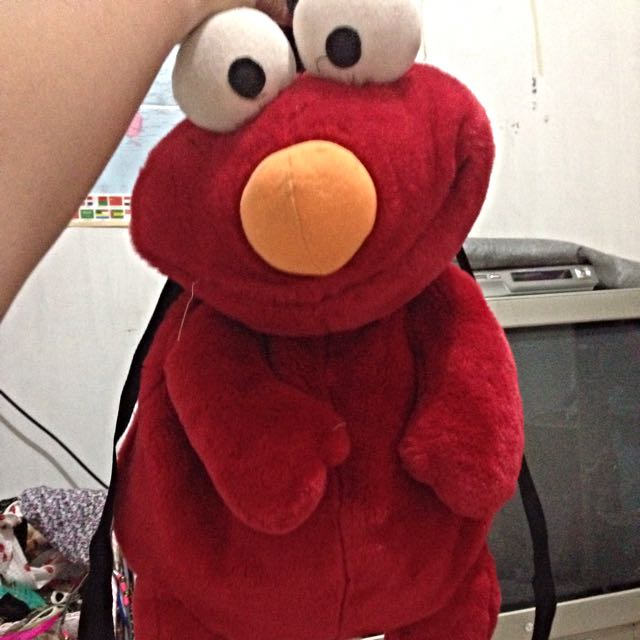 Elmo backpack