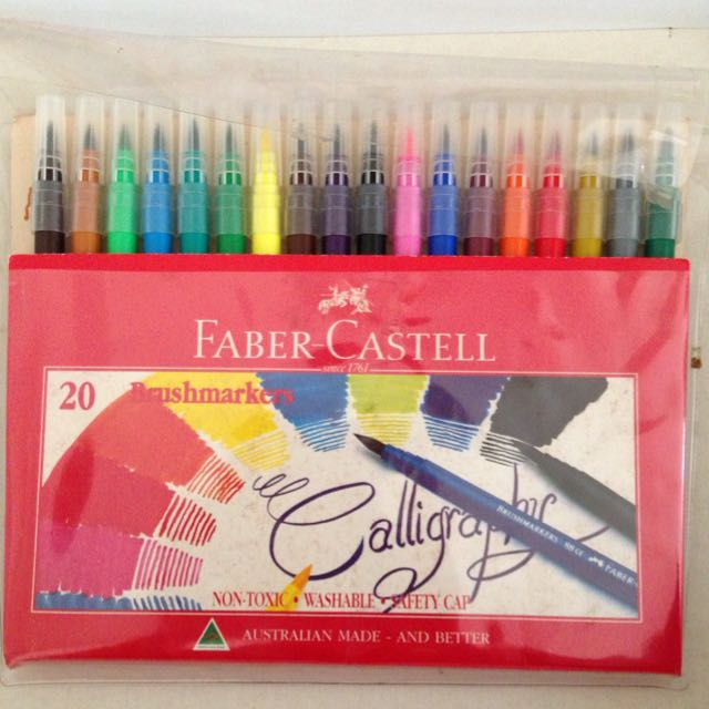 Faber-Castell Brushmarkers