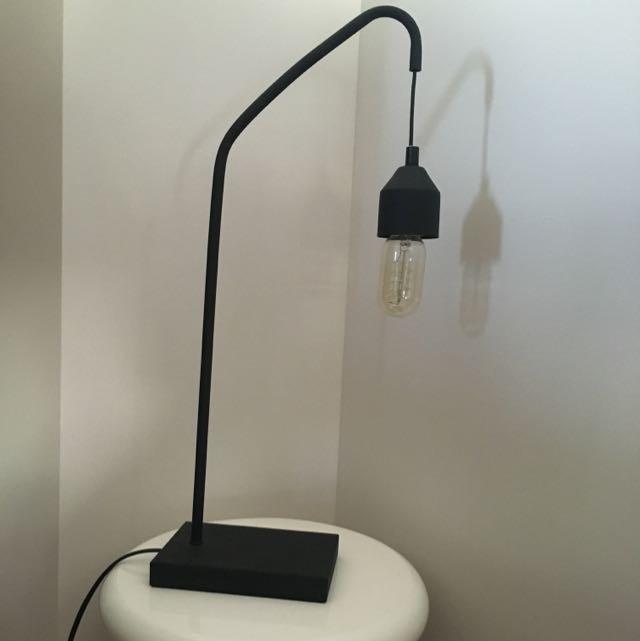 Floyd / Black Side Table Lamp