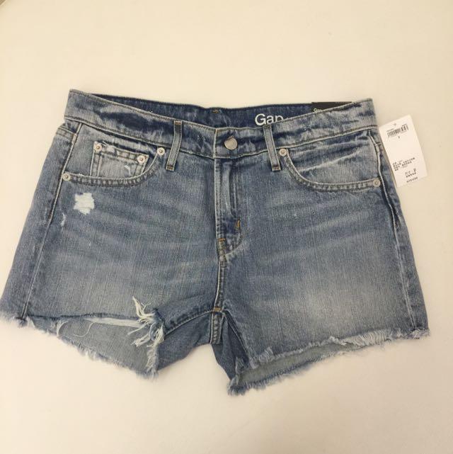 全新Gap牛仔短褲(已售待匯款)