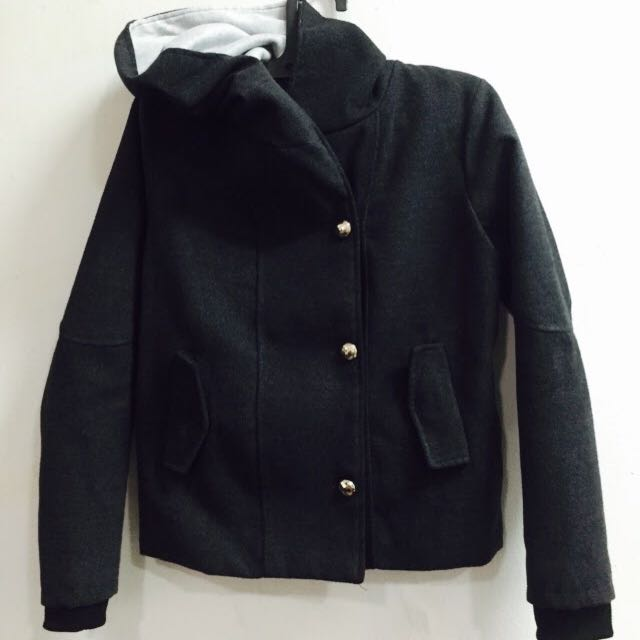 -REDUCED PRICE- Jaket Hitam Super Tebal