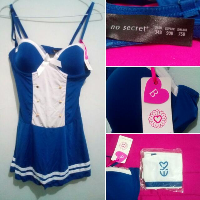 Role Play Lingerie - Sailor Version