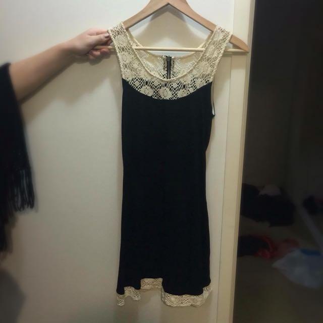 Ladakh Small Black Dress