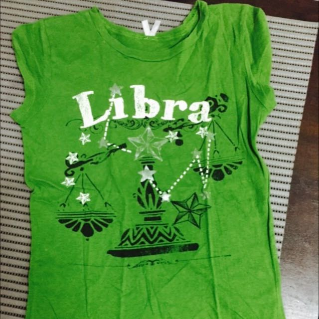 Libra Green Cute Shirt