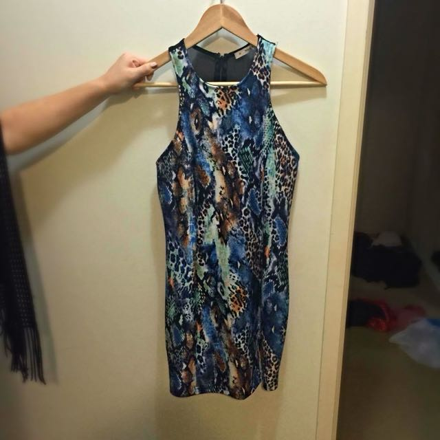 Mika & Gala Print Dress