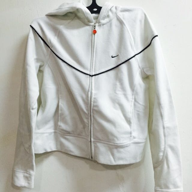 -REDUCED PRICE-NIKE white Jacket