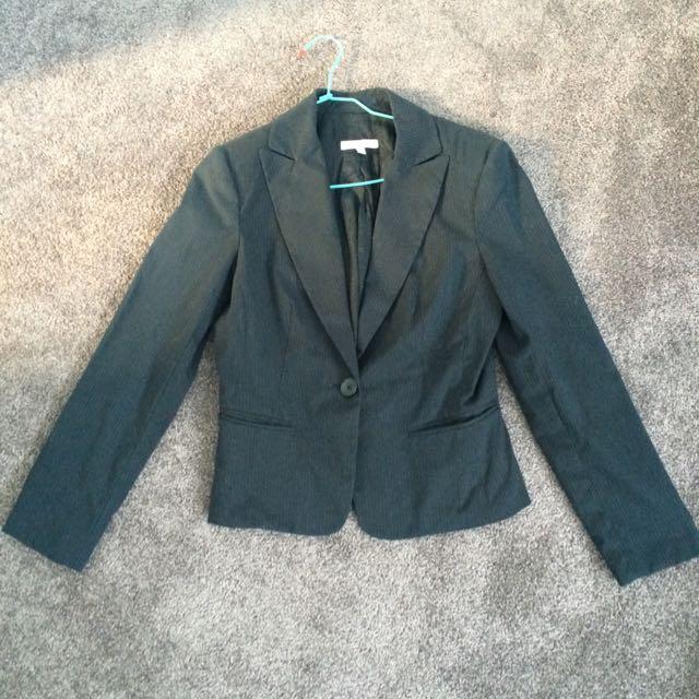 Portmans Pinstripe Skirt Suit