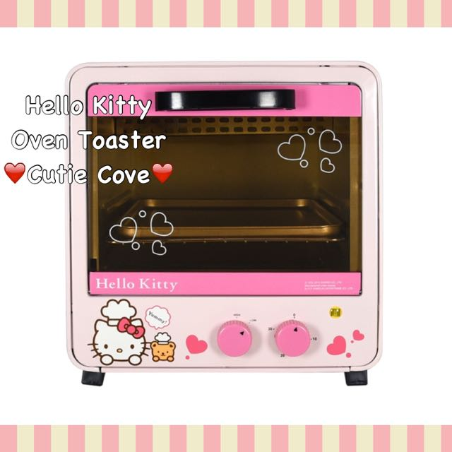 Sold Out Hello Kitty Sanrio License Oven Toaster Women S Fashion On Carousell