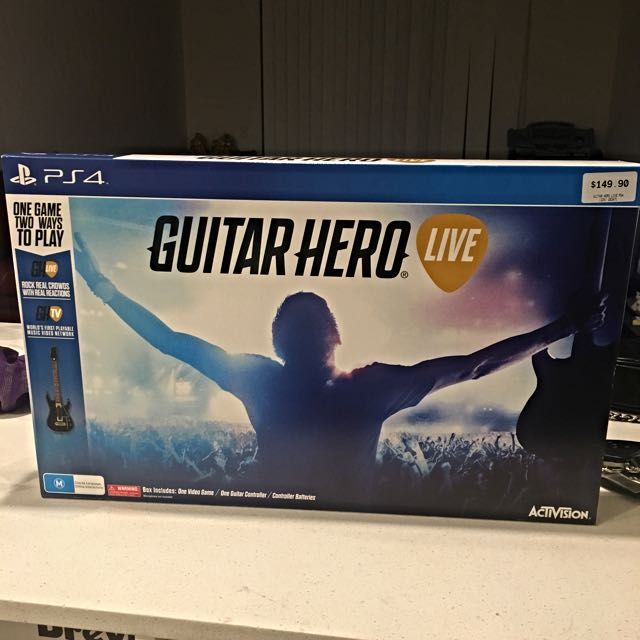 Ps4 Guitar Hero
