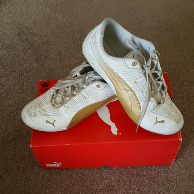 puma size 38 comes with the box
