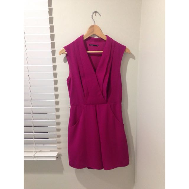 Purple Myer Playsuit