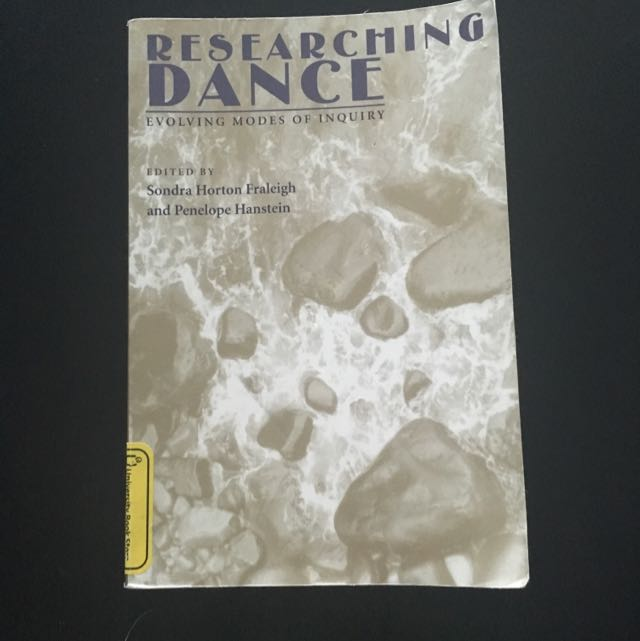 Researching Dance Textbook