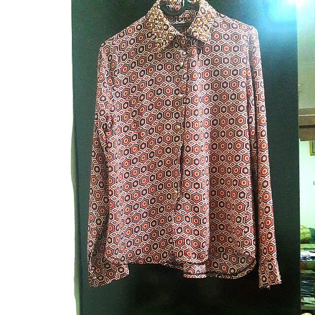 Retro Kemeja blouse