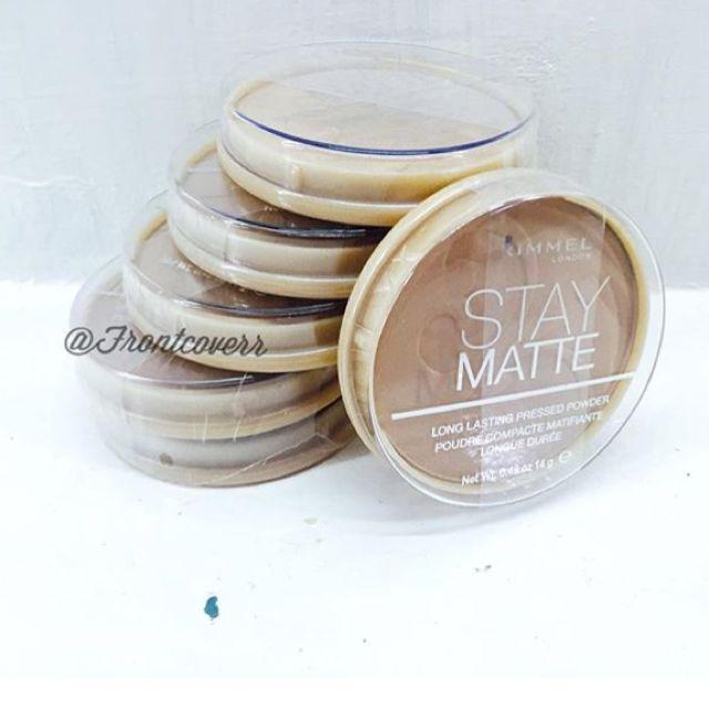 Rimmel Stay Matte Long Lasting Pressed Powder (ORI USA)