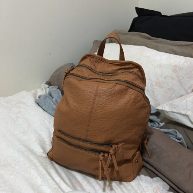 Sportsgirl Tan Backpack