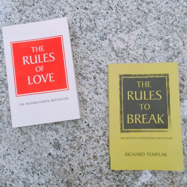 The Rules of Love + The Rules to Break (Set)