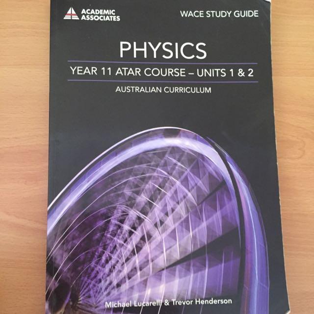 Units 1 & 2 Physics Revision