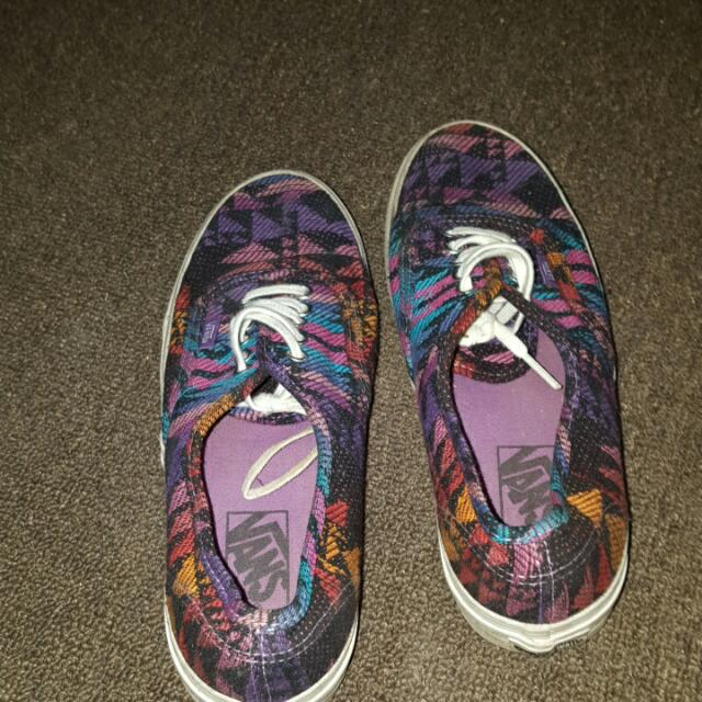 Vans Size 7 Worn Once