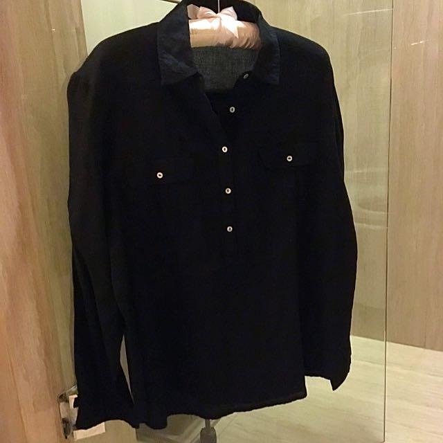 Zara Long Sleeve Black