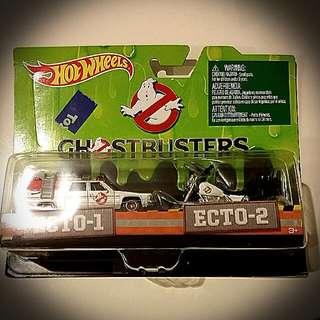 Hot Wheels Ghostbusters ECTO-1 & 2 (hotwheels)